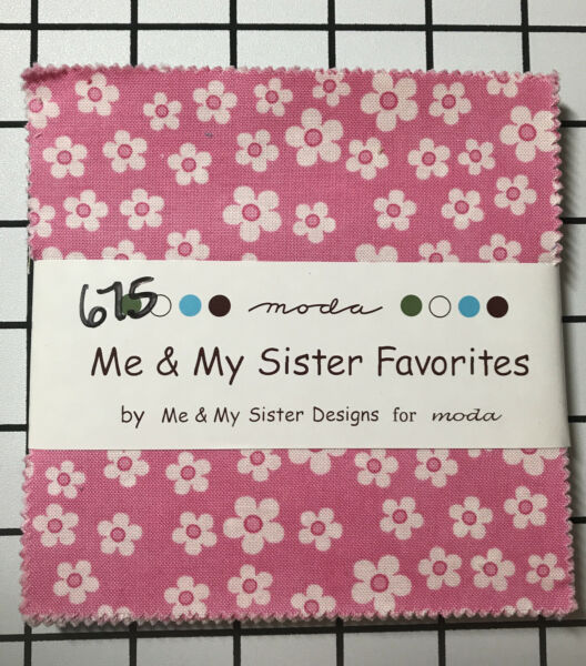 "MODA 5quot; Charm Squares ""Me amp; My Sister Favorites"" by ME and My Sister Designs"