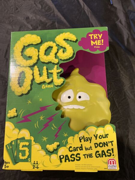 💥Mattel GAS OUT GAME Green BRAND NEW $23.00