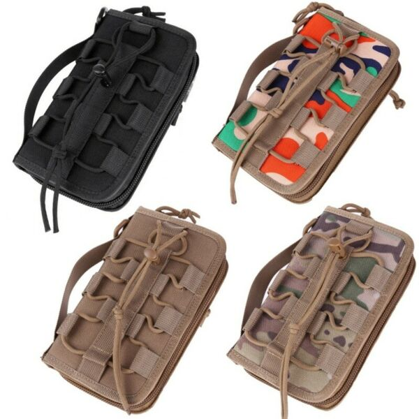 Man Wallet MOLLE Pouch Handbag Outdoor Accessories Cellphone Camouflage Bag US $17.99