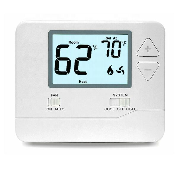 Digital Wall Electronic Non Programmable Thermostat T701 Heat Cool $31.99