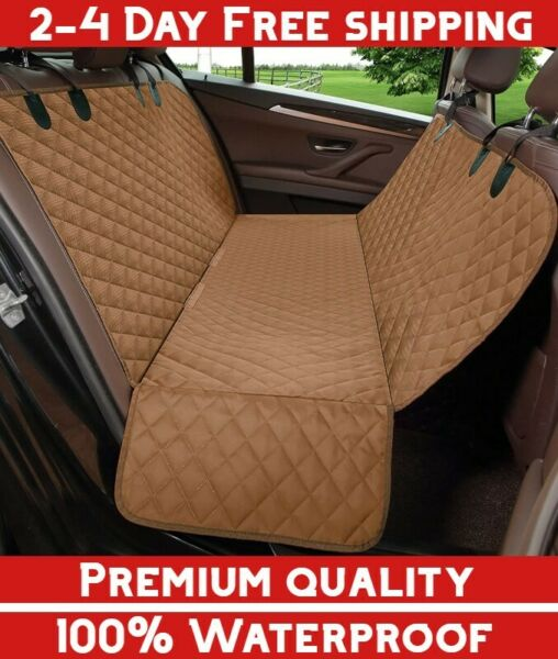 Jeep Back Seat Dog Cover Waterproof Car Pet Kid Protective Cargo Liner SUV Bench $34.85
