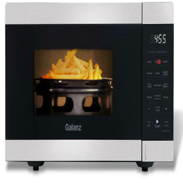 Air Fry Microwave Convection Oven 0.9 Cu Ft. 900 Watts Stainless Steel 3 In 1