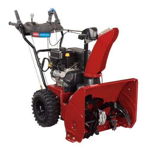 Power Max 824 OE 24 in. 252cc Two Stage Electric Start Gas Snow Blower NEW