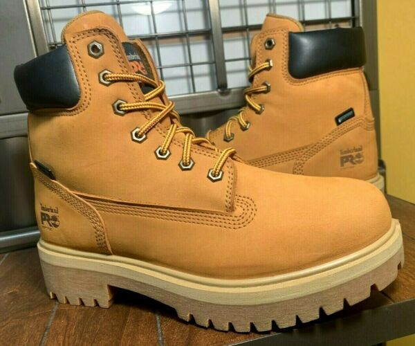 TIMBERLAND MEN 8 1 2 M WATERPROOF INSULATED WHEAT COLOR LEATHER BOOTS TB065030 $129.99