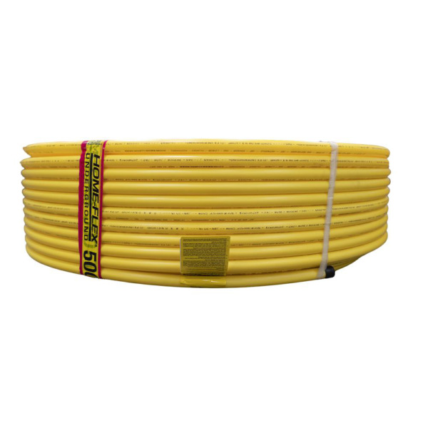 Gas Pipe Natural Gas and Propane Polyethylene Line Underground 250 ft. 1 2 in. $80.28