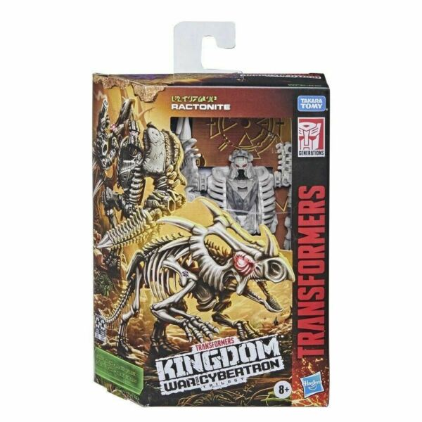 Transformers Ractonite Kingdom Deluxe Generations War for Cybertron