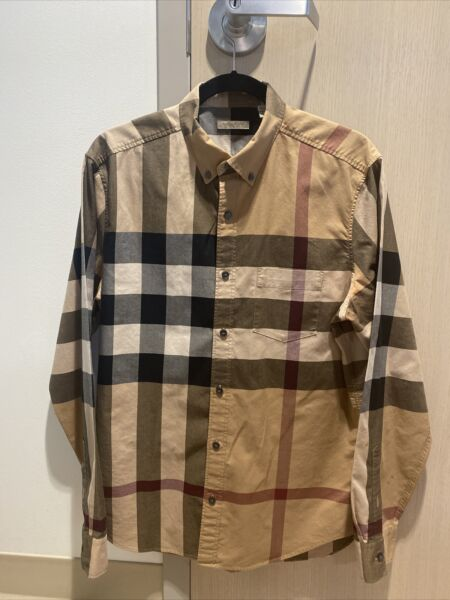 Burberry Men's Dress Shirt Size: Large 100% Authentic Pre Owned $139.99