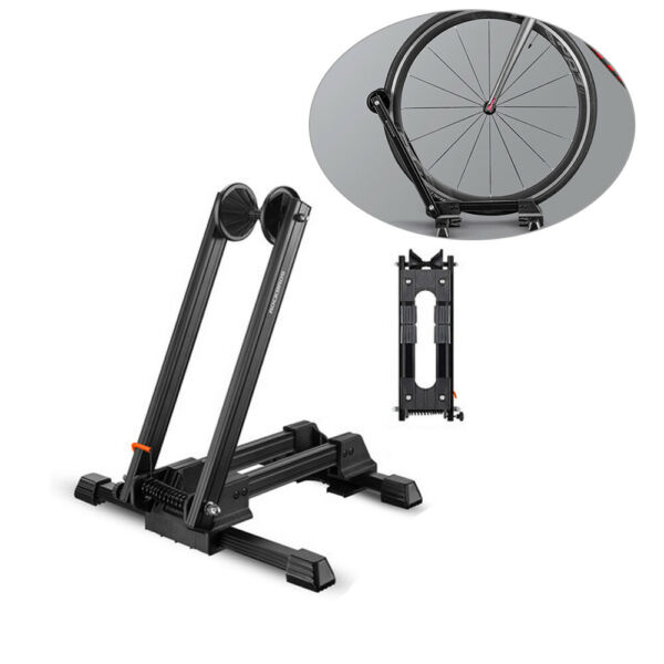 Bicycle Bike Floor Parking Storage Stand Display Rack Folding Holder New USA $27.88