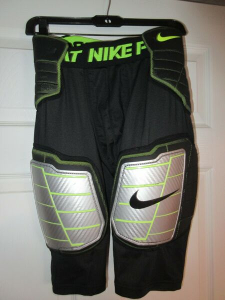 NIKE Pro Combat Hardplate Hyperstrong Padded Football Girdle Men#x27;s Size Large