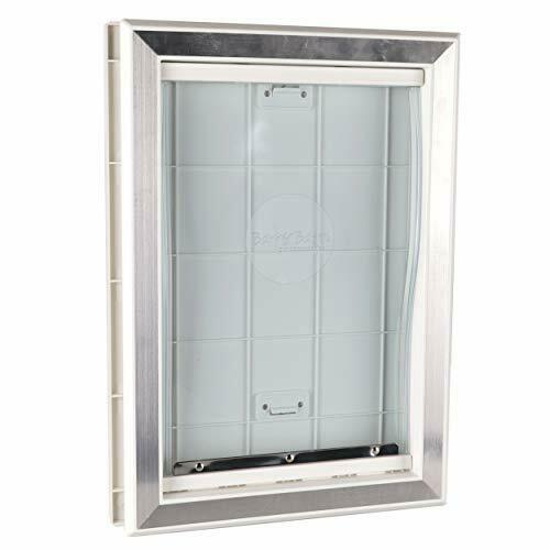 Extreme Weather Pet Door Dog Doors Exterior Cat Entry Large Dogs Heavy Duty M L $61.24