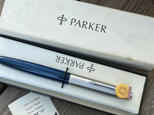 Super Nice Parker 21 Fountain Pen Made In USA. Never used.