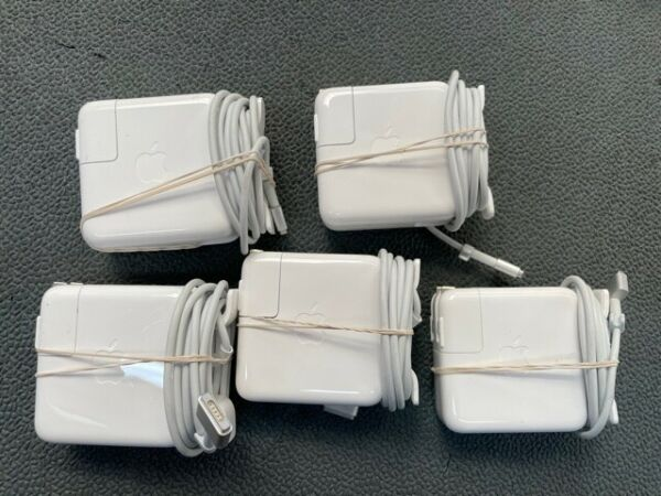 Lot of 5 45W MagSafe 2 Power Adapter MacBook Air 11#x27;#x27;13quot;A1465 A1436 T Tip New