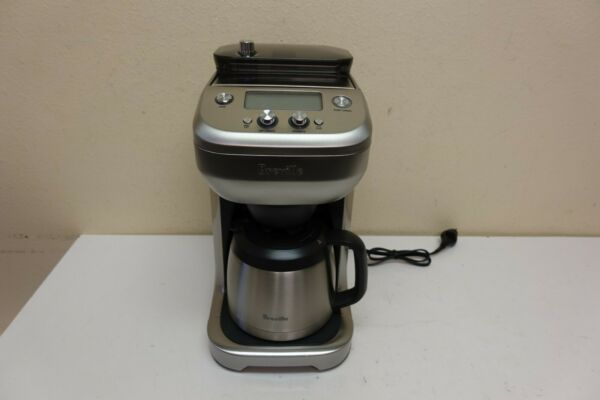 Breville BDC650BSS The Grind Control Coffee Maker Silver WS