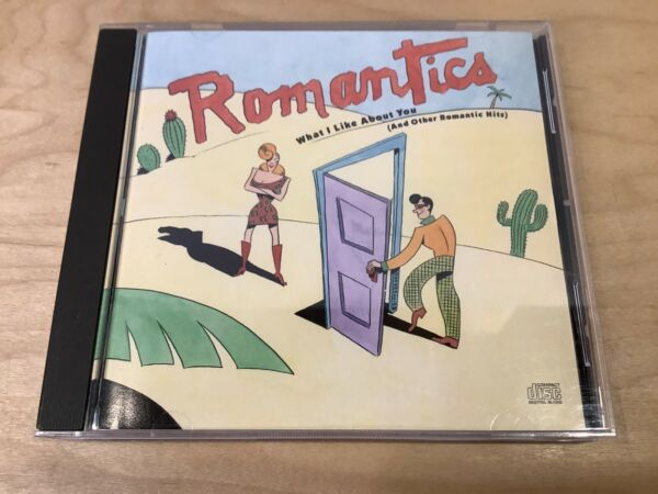 ROMANTICS What I Like About You And Other Romantic Hits CD Epic 1990