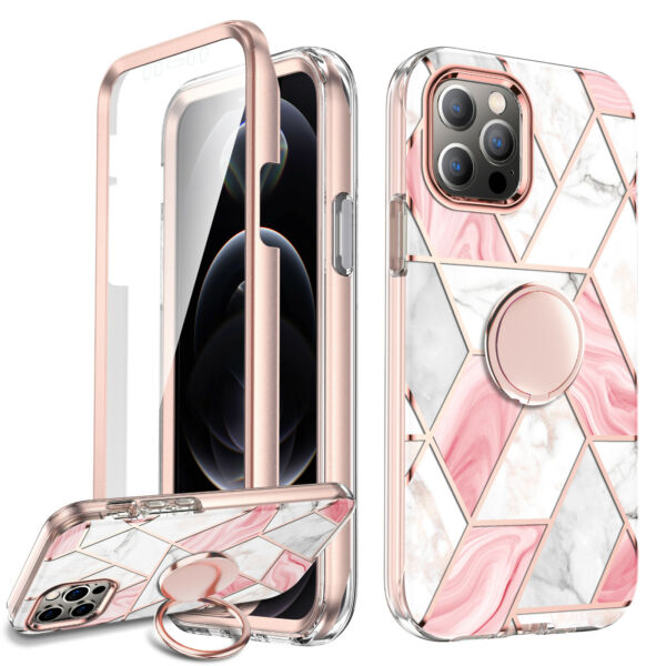 Cute Case iPhone 12 12 Pro Max Ring Kickstand Holder For Girls Women Cover $16.99