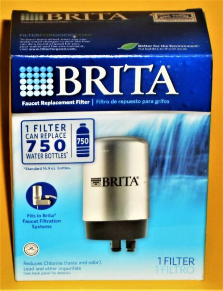 Brita On Tap Faucet Chrome Filter Replacement FF 100 OPFF 100 NIB Single Pack