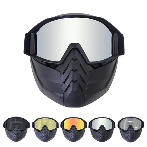 Protective Safety Goggles Scratch resistant Face Mask Shield Work Glasses PPE