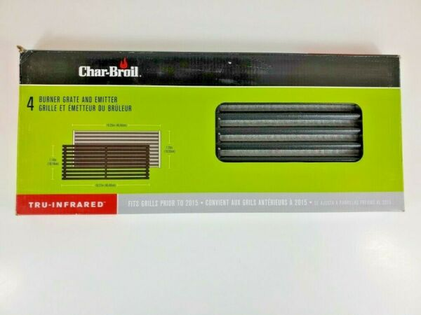 Char Broil Tru Infrared Replacement Grate and Emitter for 4 Burner Grills New