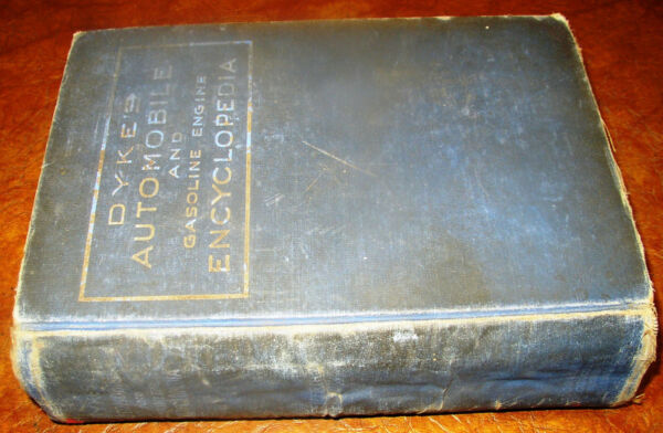 1920 26 1927 Dykes Automobile Book Ford T Motorcycles Trucks Steam Cars Tractors $39.99