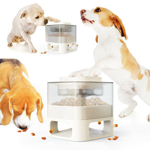 Automatic Feeders Dog Interactive Pet Toys Food Dispenser Slow Feeder Training $39.99