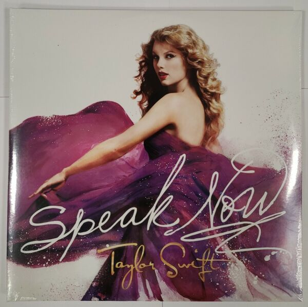 Taylor Swift – Speak Now 2 x LP Vinyl Records NEW Sealed Country Pop Rock $39.95