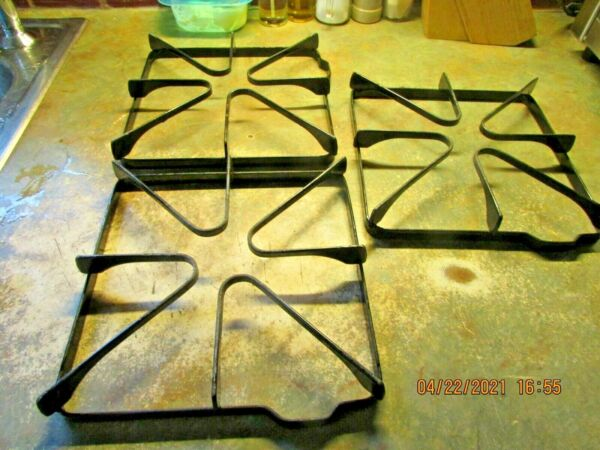 Kenmore Gas Range Stove Grates 8 1 2quot; x 8 1 2quot; Read Description