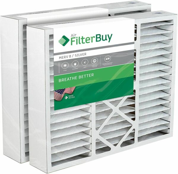 FilterBuy 20x25x5 Honeywell FC100A1037 Compatible Pleated AC Furnace Air Filters $32.99