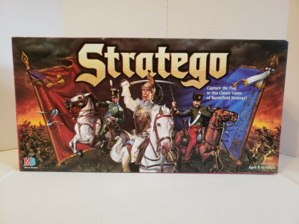 Vintage 1996 STRATEGO Strategy Board Game Made in USA COMPLETE *FREE SHIPPING*
