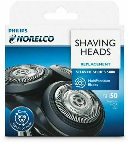NEW Philips Norelco SH50 Shaving Heads Replacement Shaver Series 5000 $12.50