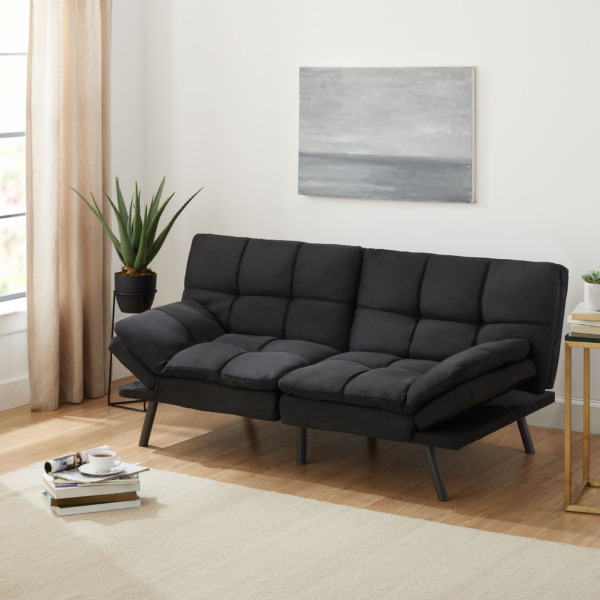 Futon Sofa Bed Couch Sleeper Full Size Memory Foam Convertible Foldable Loveseat $216.71