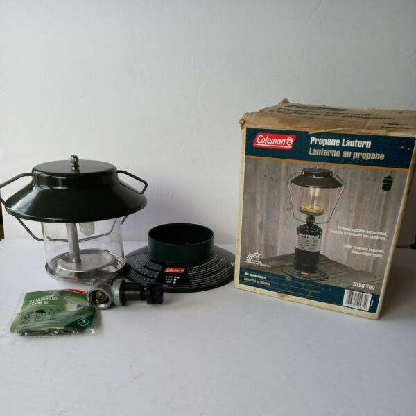 Coleman Single Mantle Lantern 5150 700 with 4 Mantles included.
