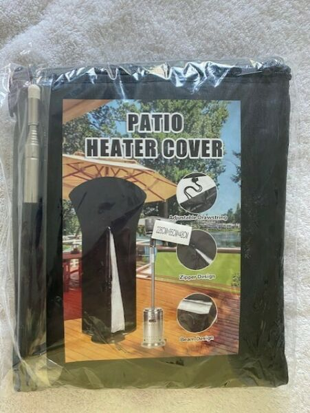 Waterproof Outdoor Patio Heater Cover Snow Rain Dust Protector Heavy Duty NEW
