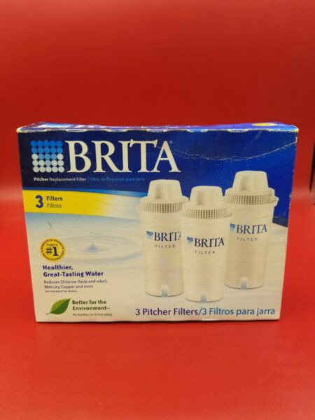 Brita Filters For Pitcher 3 pack 2 Unopened 1 Open BX20 21