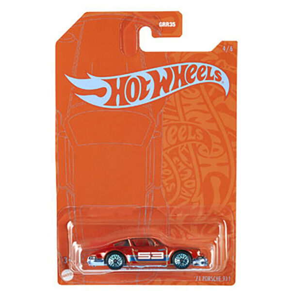 Hot Wheels #x27;71 Porsche 911 Blue and Satin Wave 2 Series #4 of 6 $7.99