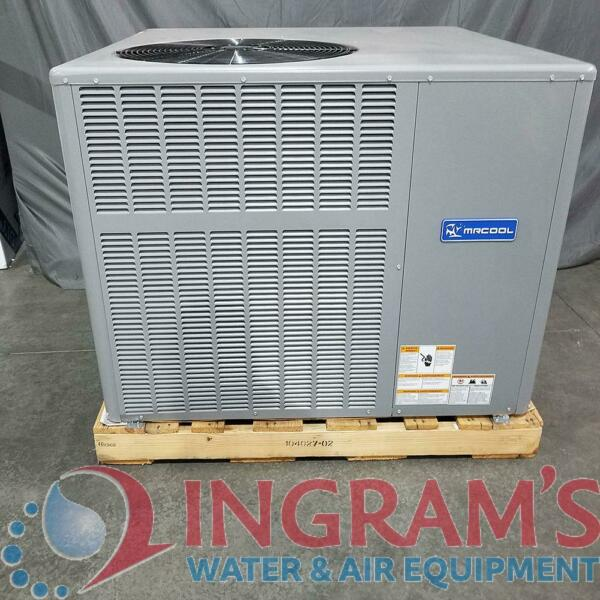 Scratch amp; Dent 25582 3 Ton 14 SEER MrCool Signature Heat Pump Package Unit Mu $1674.84