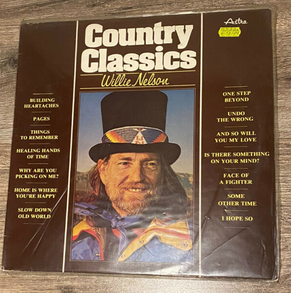 willie nelson vinyl country classic $11.40