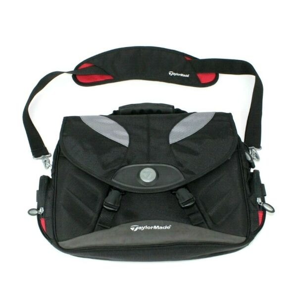 Taylormade Golf Tmax Gear Messenger Bag Padded Laptop Brief Travel Carry Strap $24.77