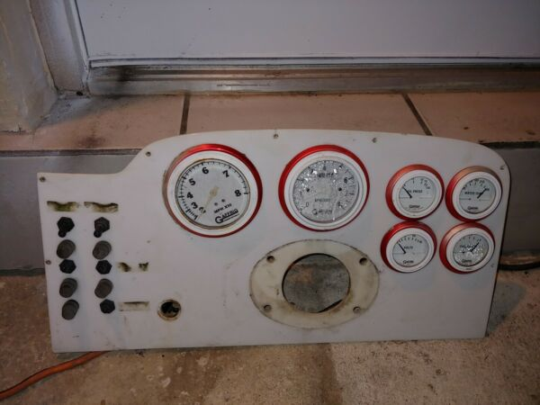 gaffrig marine gauges set of 6 with panel and toggle switches $139.00