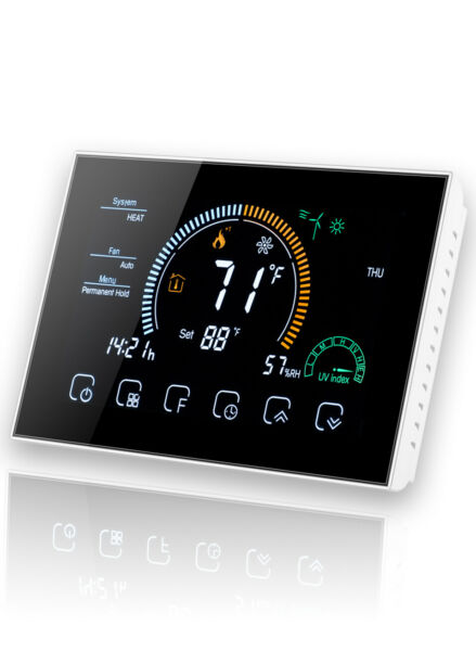 Arxus Smart Thermostat WIFI Heat Pump and Air Conditioning Programming Control $89.99