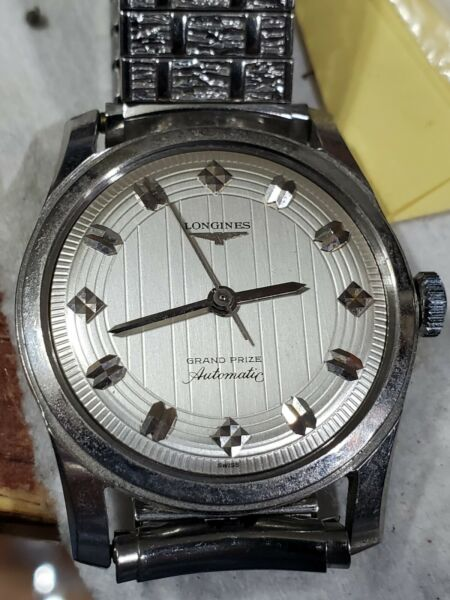 Vintage Longines Grand Prize Automatic Watch Cal 340 $343.00