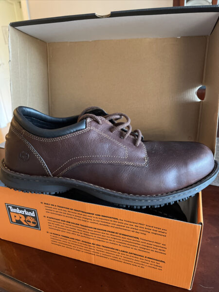 Timberland PRO Gladstone ESD Oxford Steel Safety Shoe Size 14 Free Shipping $120.00