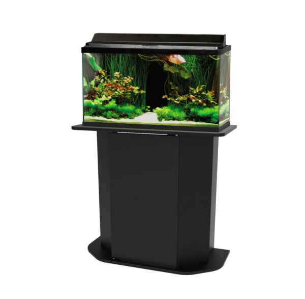 Fish Tank Holder Deluxe 20 29 Gallon Aquarium Stand Storage Cabinet Wood Door $75.89