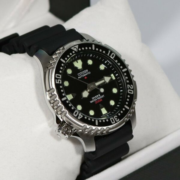 Citizen Promaster Sea Automatic Dive Black Dial Watch NY0040 09EE