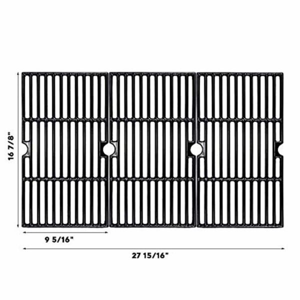 New Porcelain Enameled Cast Iron Grill Cooking Grates for Charbroil Gas Grills