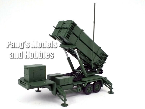 Patriot Missile PAC 3 System M901 Launching Station Green 1 72 Scale Model $32.99