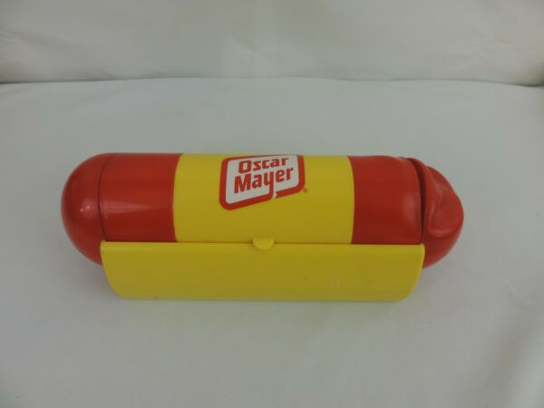 Oscar Mayer Hot Dog shaped Condiment Server Serving tray WEINERMOBILE $19.99