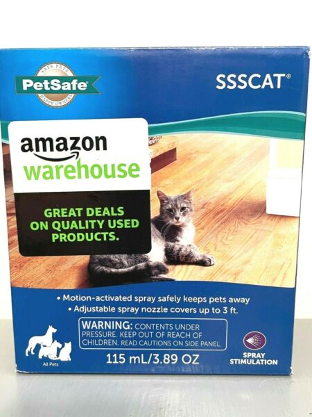 PetSafe SSSCAT Spray Dog and Cat Deterrent System Motion Activated NEW $21.99