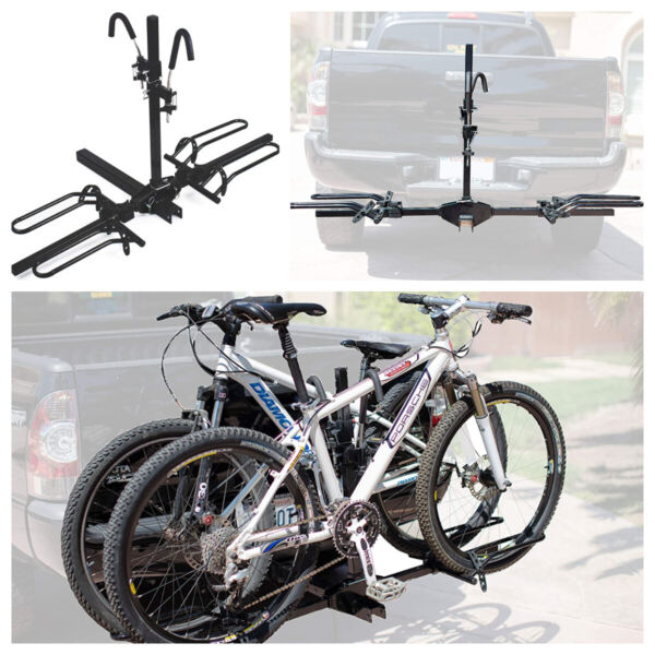 Mountain Bike Bicycle Adjustable Hitch Rack Universal Foldable Carrier $159.95