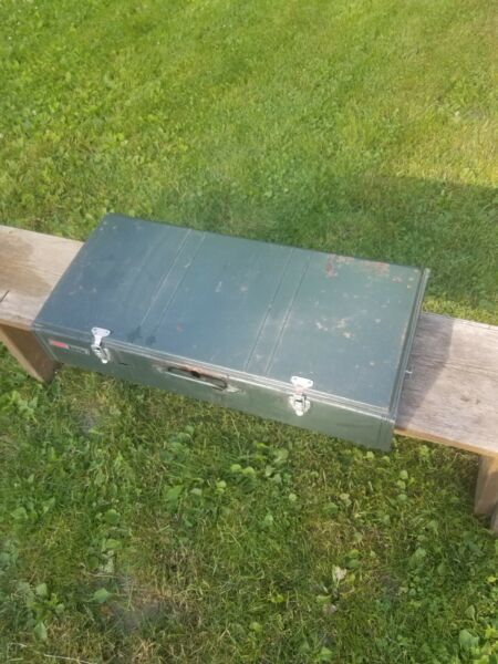 COLEMAN 428 POWERHOUSE DUAL FUEL 3 BURNER CAMP STOVE 06 1992. Lower 48 only