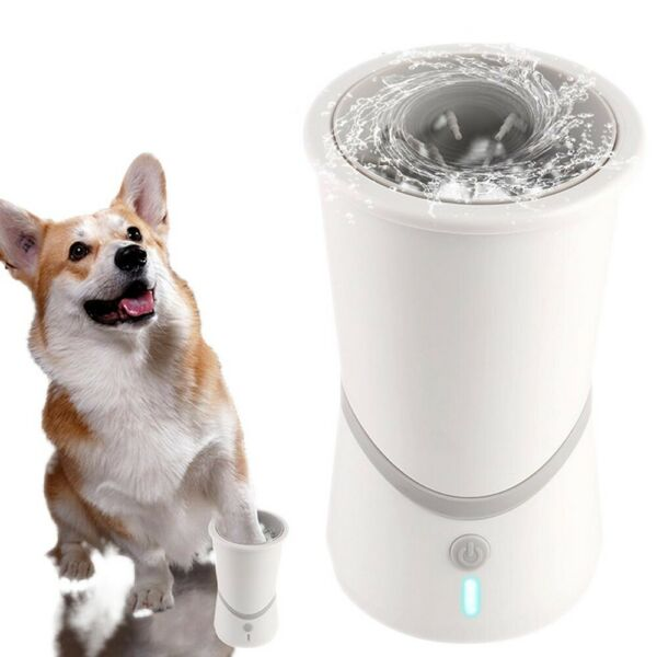 Automatic USB Dog Paw Cleaner Electric Cat Foot Washer Pet Cleaning Tool $19.99